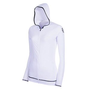 ZIP-UP HOOD WHITE
